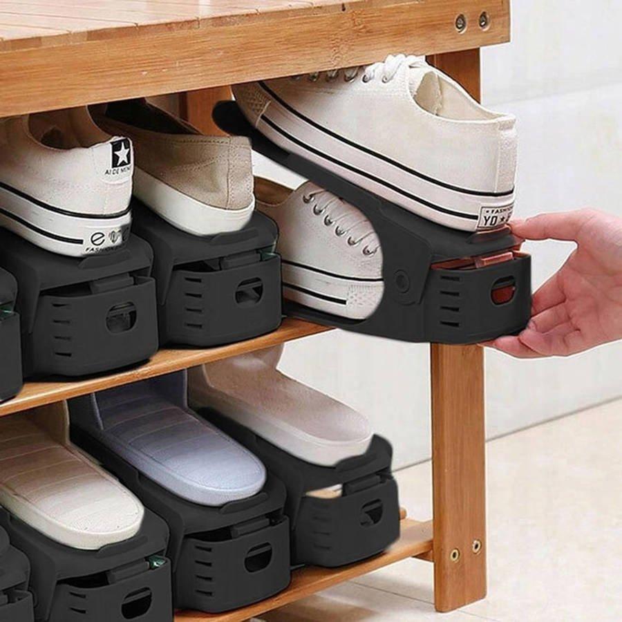 10x Organizer na buty czarny