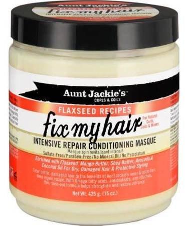 Aunt Jackie's Flaxseed Fix My Hair Maska do Loków 426 g