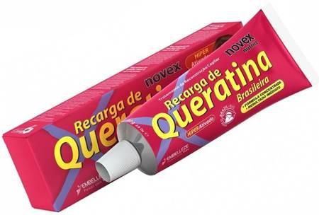 Novex Brazilian Keratin Odżywka do włosów z keratyną 80g