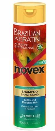 Novex Brazilian Keratin Szampon do włosów z keratyną 300ml