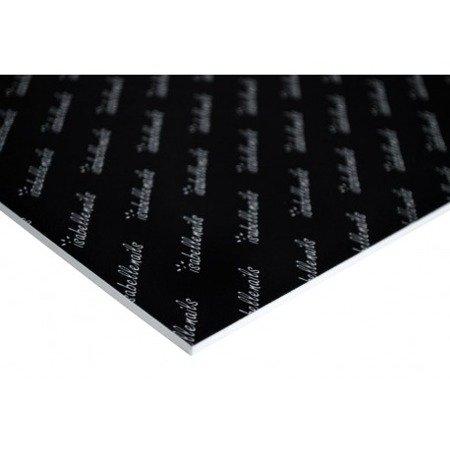 Podkładka do zdjęć isabellenails czarna z białym logo