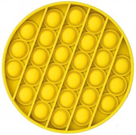 Push Bubble Pop It Zabawka Sensoryczna Bąbelki Żółta