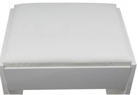 Stołek taboret krzesełko do toaletki kosmetycznej Lara