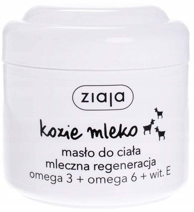 ZIAJA Kozie Mleko Masło do Ciała 200ml