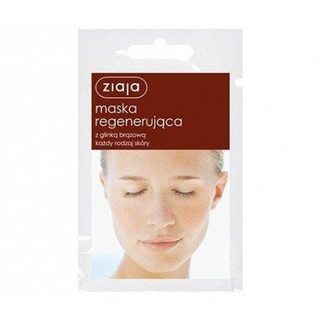 Ziaja Maska regenerująca z glinką brązową 7 ml